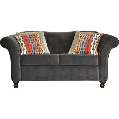 Sophia Sofa Upholstery: Triumph Granite/Bardot Atomic