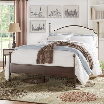 Rockledge Upholstered Panel Bed Size: Twin