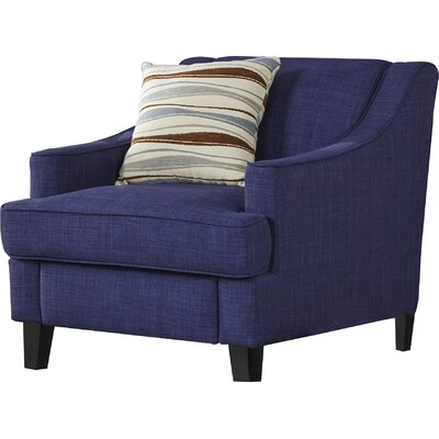 Rhinebeck Armchair Upholstery: Twilight Blue