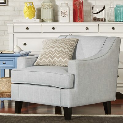 Rhinebeck Arm Chair Fabric: Hazy Blue