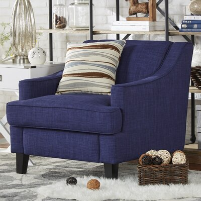 Rhinebeck Arm Chair Fabric: Twilight Blue