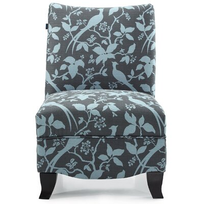 Hornby Slipper Chair Upholstery: Teal