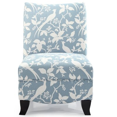 Hornby Slipper Chair Upholstery: Robins Egg