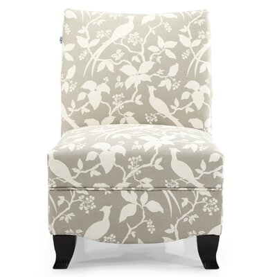 Hornby Slipper Chair Upholstery: Platinum