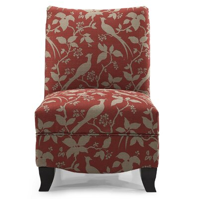 Hornby Slipper Chair Fabric: Crimson
