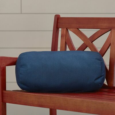 Vintondale Indoor/Outdoor Solid Round Bolster Pillow