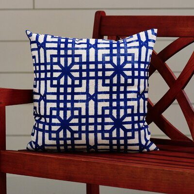 Vienna Indoor/Outdoor Geometric Throw Pillow