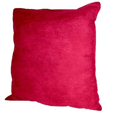 Palermo Throw Pillow Color: Crimson, Size: 22