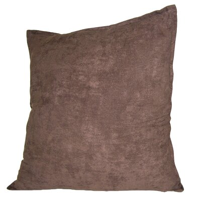 Palermo Throw Pillow Color: Brown, Size: 22 H x 22 W