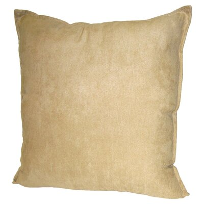 Palermo Throw Pillow Color: Mocha, Size: 22 H x 22 W