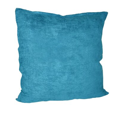 Palermo Throw Pillow Color: Turquoise, Size: 22 H x 22 W