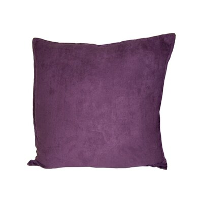 Palermo Throw Pillow Color: Eggplant, Size: 22