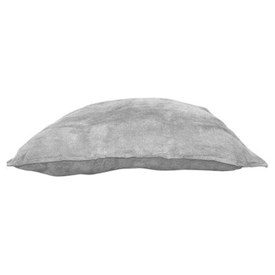 Palermo Throw Pillow Color: Silver, Size: 22 H x 22 W