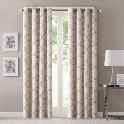 Three Posts Winnett Single Curtain Panel
