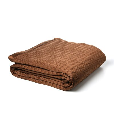 Hopkinton Quilt Size: King, Color: Coffee Circle