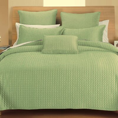 Westchester Quilt Throw Color: Green Circle