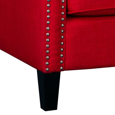 Rotterdam Arm Chair Upholstery: Berry