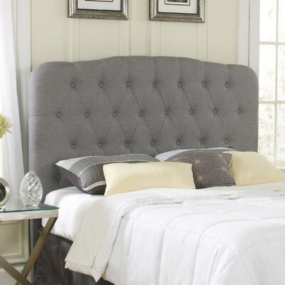 Pamelia Upholstered Panel Headboard Size: Queen/Full