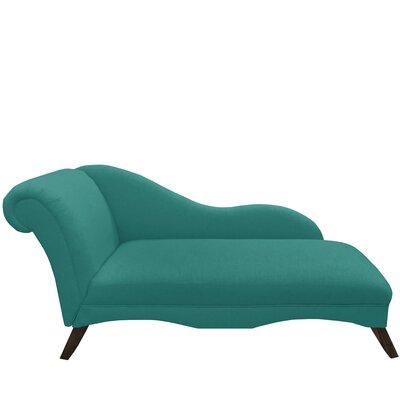 Plumwood Chaise Lounge Upholstery: Laguna