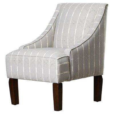 Goldhorn Armchair Upholstery: Menton Linen, Nailhead Detail: No Trim