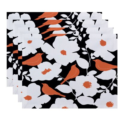 Grand Island Modfloral Print Placemat