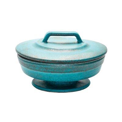 Ceramic Patina Vase Size: 9.5