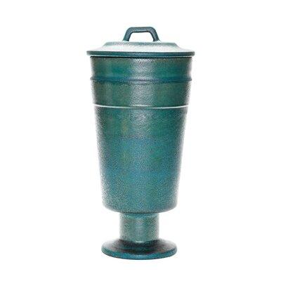 Ceramic Patina Vase Size: 23