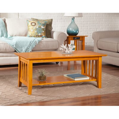 Danube Coffee Table Color: Caramel Latte