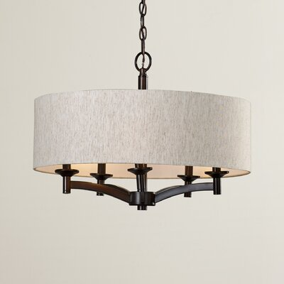 Noah 5-Light Drum Chandelier