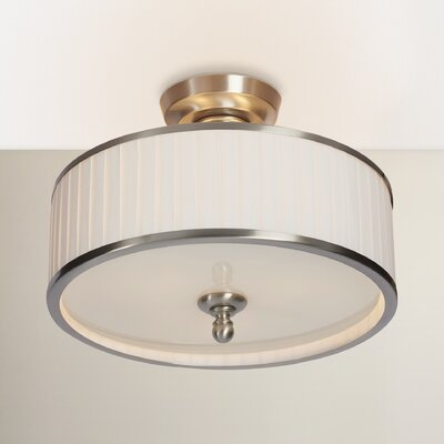 Harwinton 3-Light Semi Flush Mount
