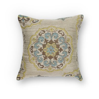 Cutler Bay Mosaic Indoor/Outdoor Throw Pillow Size: 18 H x 18 W x 0.5 D