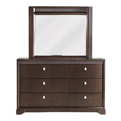 Cardone 6 Drawer Dresser with Mirror
