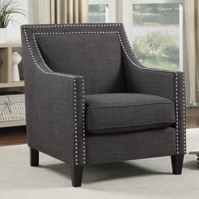 Rotterdam Arm Chair Upholstery: Charcoal