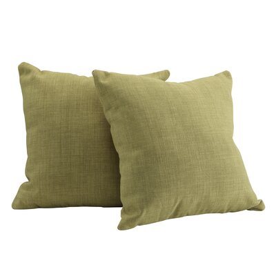 Rockwood Throw Pillow Color: Chartreuse
