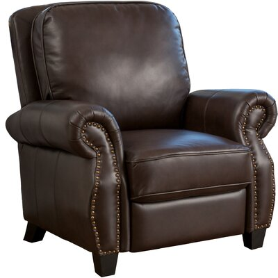 Tully Faux Leather Recliner