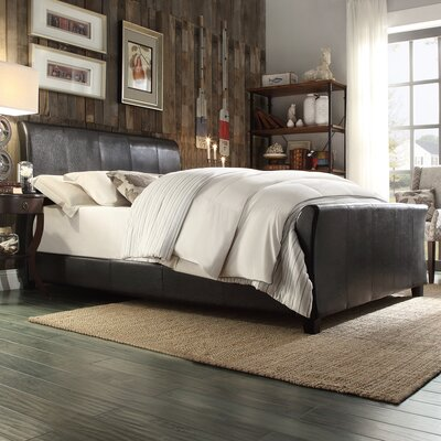 Stonybrook Upholstered Sleigh Bed Size: Queen
