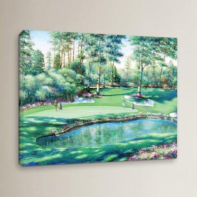 The Water Trap Painting Print on Wrapped Canvas
