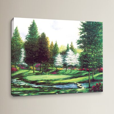 Par 3 by The Stream Painting Print on Wrapped Canvas
