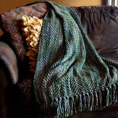 Bella Throw Blanket Color: Olive