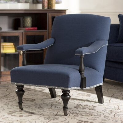 Beverly Armchair Upholstery: Steel Blue