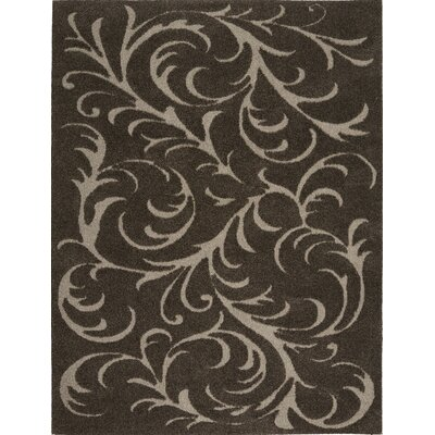 Cincinnatus Brown Area Rug Rug Size: 52 x 72