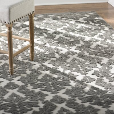 Weissport Ivory/Gray Area Rug Rug Size: 2'2' x 3'9