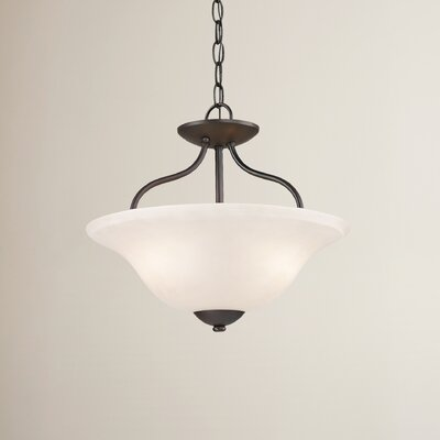 Cathy 2-Light Semi Flush Mount