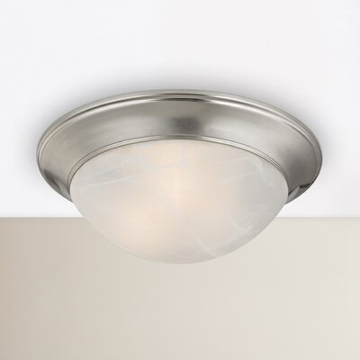 Ellesmere 3-Light Flush Mount Finish: Brushed Nickel