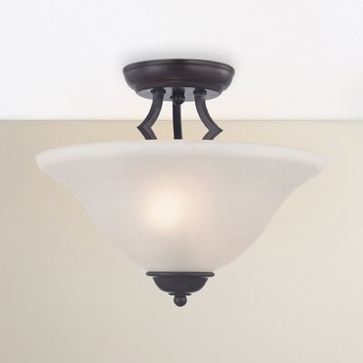 Ellerbee 2-Light Semi-Flush Mount