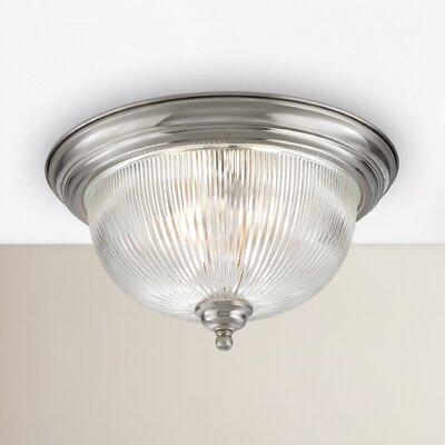 Grosse 3-Light Flush Mount Finish: Brushed Nickel