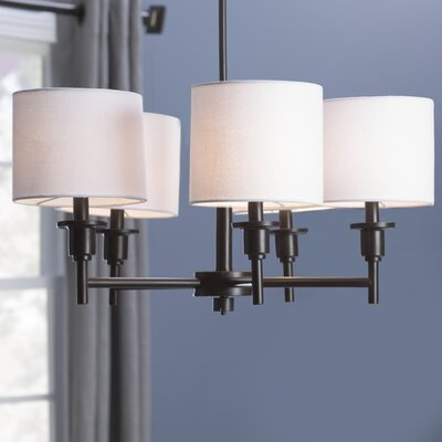 Avondale 5-Light Drum Chandelier Finish: Bronze