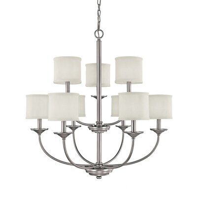 Portman 9-Light Chandelier