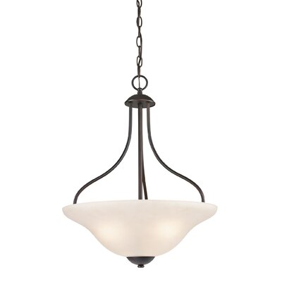 Cathy 3-Light Bowl Pendant