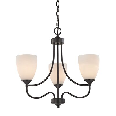 Grimshaw 3-Light Shaded Chandelier